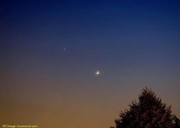 Saturn Venus Moon